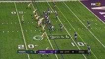 Brett Hundley throws first career NFL TD pass to Davante Adams