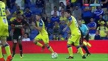 1-0 Viðar Kjartansson Goal Israel  Premier League - 15.10.2017 Maccabi Tel Aviv 1-0 Bnei Yehuda
