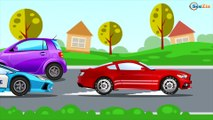 Construction Trucks: The Yellow Truck & Dump Truck & Crane - Cars & Trucks Cartoon for kids