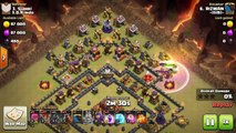 TH10 LAVALOON 3 STAR WAR ATTACK | TWO WAYS TO 3 STAR TH10 WITH LAVALOON/LAVALOONION | Clash of Clans