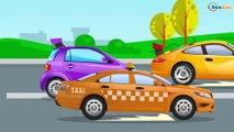 СБОРНИК: Мультики про МАШИНКИ - Быстрая Полицейская Машина Погоня - Развивающие видео для детей