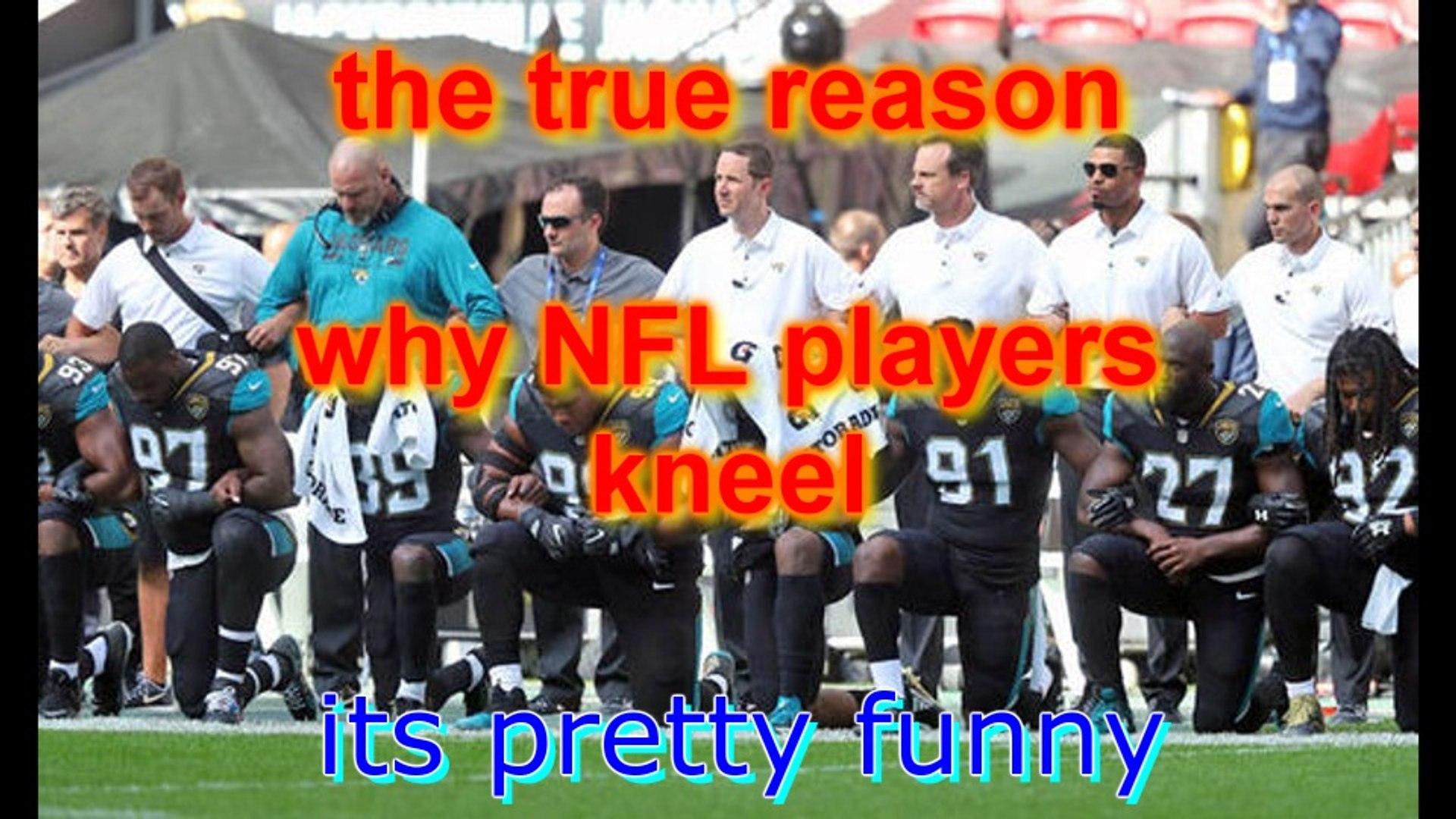 the true reason NFL players kneel