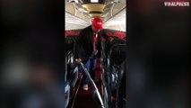 AirAsia Boss Tony Fernandes Vacuums Aeroplane