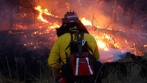 Easing Winds Give Firefighters Edge On Deadly California Conflagration