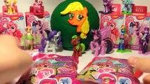 Много сюрпризов МАЙ ЛИТЛ ПОНИ My Little Pony, ПЛЭЙ-ДО Play-Doh яйцо Эппл Джек (Мой Маленький Пони)