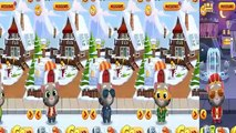 5Tom/Tom,Frosty Tom,Official Tom,Super Tom & King Tom/Talking Tom Gold Run/Gameplay for Kid #40