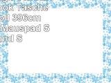 PEDEA Design Schutzhülle Notebook Tasche bis 156 Zoll 396cm mit Design Mauspad Stars and