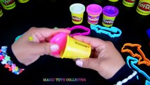 Fun with Play Doh Sparkle and animals shaped molds. Modeling Play doh for kids.