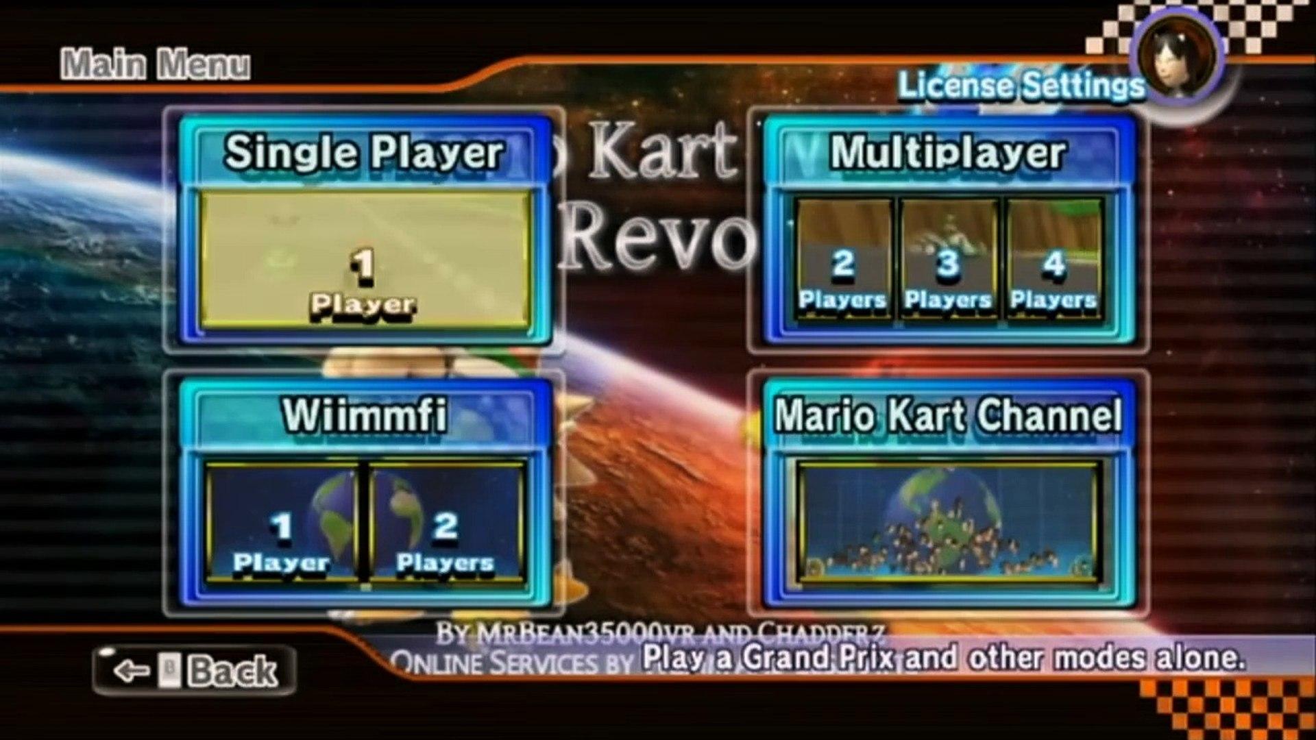 Mario Kart Wii Custom Tracks Reloaded Mega Mushroom Cup Hd