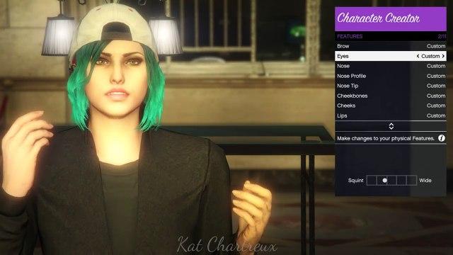 GTA V _ Beautiful Female Character Creation [ANNE]-9PYYseOLBag