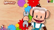 Baby Learn Colors, Shapes, Numbers with Monkey | Educational Games for Toddlers or Preschooler