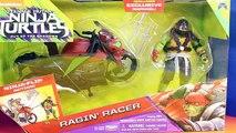 Nickelodeon Teenage Mutant Ninja Turtles TMNT With Street Speeder Flipping Leo And Street Racer Raph