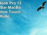 WildTech Sleeve für Apple MacBook Pro 13 mit Touch Bar  MacBook Pro 13 ohne Touch Bar