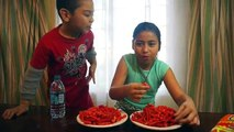 FUNNY HOT CHEETOS & TAKIS CHALLENGE