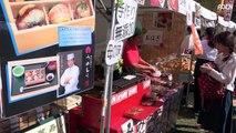 Street Food Festival in Nara, Japan