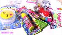 SHOPKINS CASE Bonanza! MLP Push POP Lip BALM Twozies Baby Bottle Pop Candy Rattle! Shopkins Glow