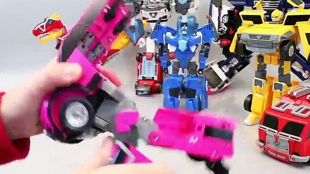 헬로카봇 미니특공대 카봇 또봇 변신 타요 뽀로로 폴리 장난감 Robot Car transformers Toys