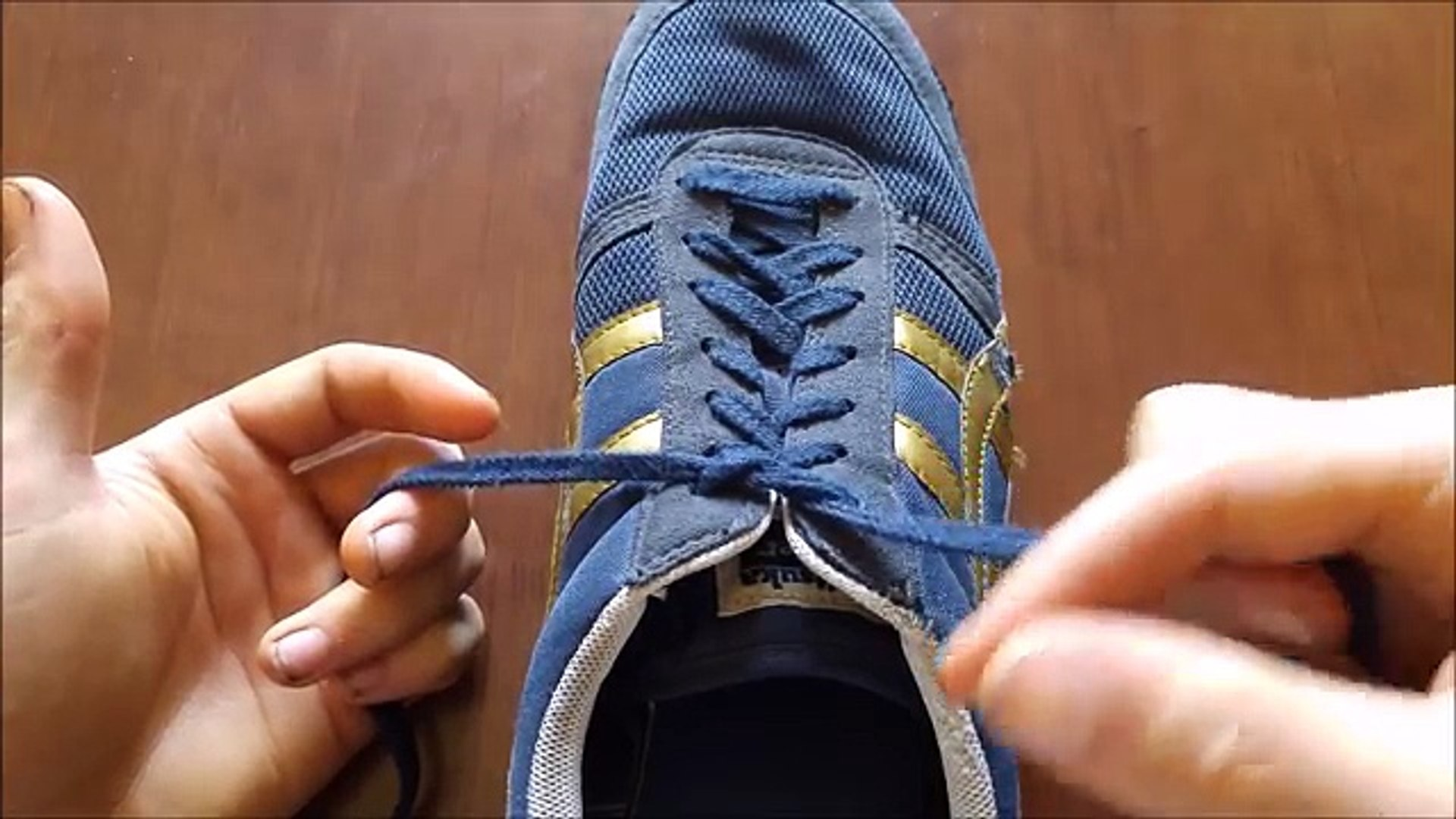 How To Tie Your Shoes Insanely Fast!