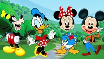 Disney Mickey Mouse Clubhouse Wrong Heads Finger Family Nursery Rhymes Fun Animation Video for Kids