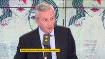 """Bruno Le Maire envisage """"une contribution exceptionnelle"""" pour compenser l'annulation de la taxe sur les dividendes des entreprises #8h30politique"""