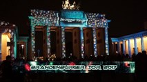 Berlin leuchtet 2017 am Brandenburger Tor
