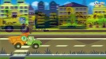 Пожарная машина и Полицейская машина в Городе | Мультики про машинки | Мультфильм