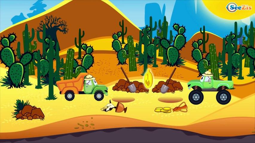 El Camión de Bomberos es Rojo - Dibujo animado de coches - Carritos Para Niños