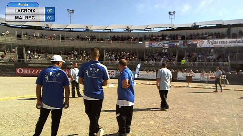 2ème International Laurent Barbero à Fréjus mai 2017 : Finale MALBEC vs ROCHER