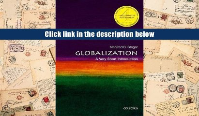 Globalization A Very Short Introduction Manfred B Steger Pdf