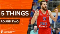 Turkish Airlines EuroLeague, Regular Season Round 2: 5 Things to Know