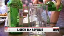 Liquor tax revenues hit record high despite bad economy