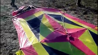 Kite Flying in Arima Will The Big Boys Go Up