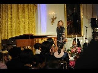 Miri Ben-Ari White House performance - National Anthem