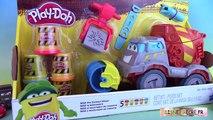 Pâte à modeler Super Camion Ciment Bétonnière Play Doh Max The Cement Mixer Truck Diggin Rigs