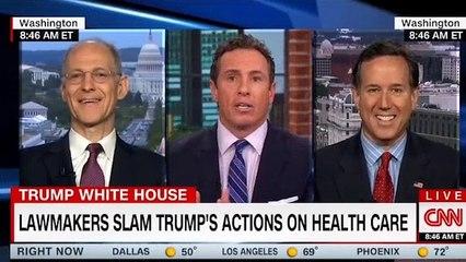 Zeke Emanuel eviscerates Rick Santorum on Trump's latest Obamacare sabotage