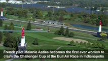 France's Mélanie Astles makes history at Red Bull Air Race