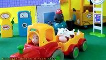 Pig George da Família Peppa Pig atropelado pelo ônibus escolar - Peppa Pig Dublado em Português
