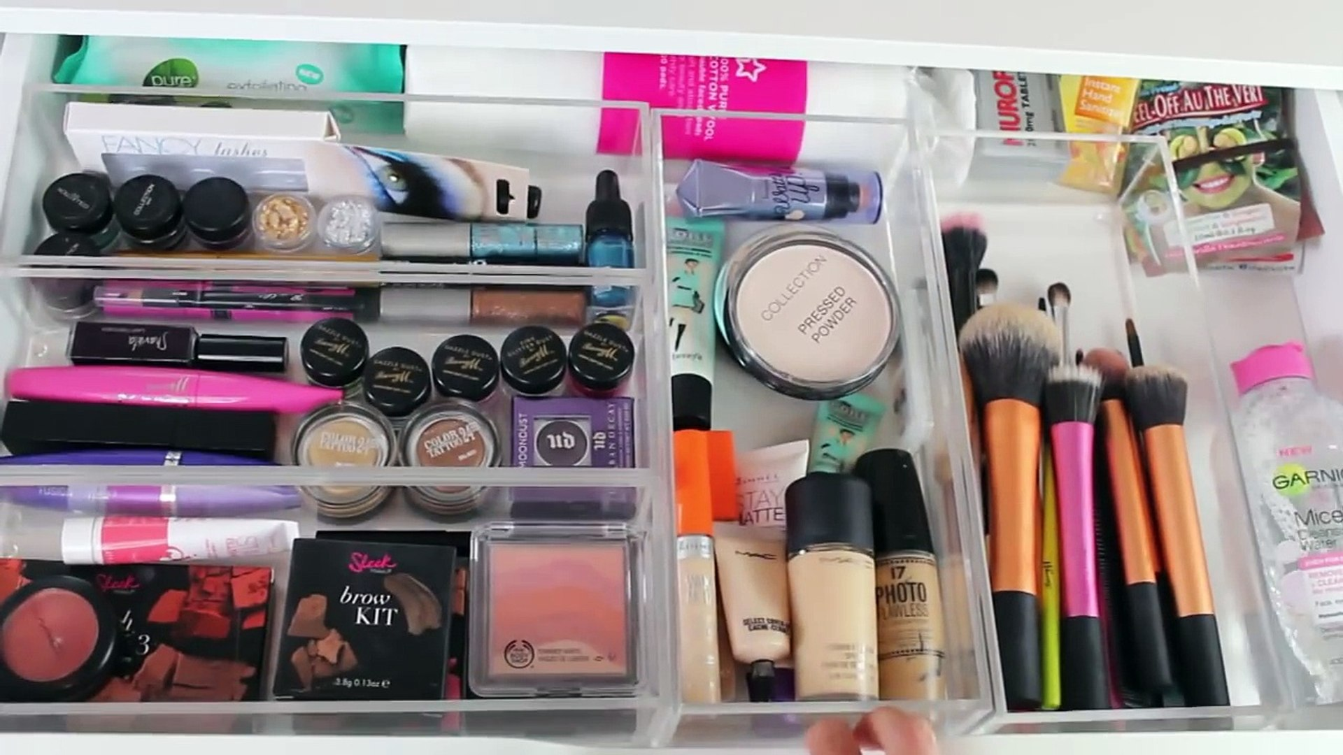 Makeup Collection and Storage | Cherry Wallis
