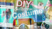 DIY Interive Snapchat Costume! | Be The Snapchat App! | Puking Rainbow Prop! | Snapchat Shoes!