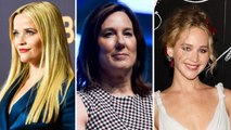 Reese Witherspoon, Kathleen Kennedy, Jennifer Lawrence Discuss Assault, Harassment In Wake of Weinstein Claims | THR News