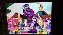 New Update My Little Pony Equestria Girls MLP Friendship Games App Scan School Spirit Rainbow Dash