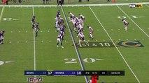 freeD: Terrell Suggs tackles Jordan Howard for a 7-yard loss | Week 6