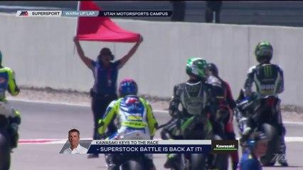 2017 MotoAmerica Championship Of Utah Supersport Race 1