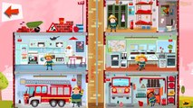Fire Truck | Fire Station Engine | Fire Engine & Firefighters | Little Fire Station For Children