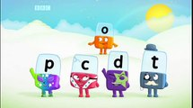 Phonics Alphablocks S02E16 Dot