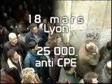 18 mars : 25000 anti CPE à Lyon