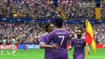PES 2017 | Juventus vs Real Madrid | 2 Free Kick Goal C.Ronaldo | Final UEFA Champions League (UCL)
