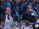 A defining moment in US political comedy: Colbert roasts Bush at White House Correspondents Dinner - 2006