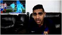 ردة فعلي على ( برشلونة ضد اتلتيكو مدريد ) - مباراة نارية  !!!