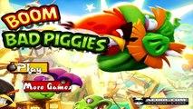 Bad Piggies - BOOM (Mini Bad Piggies Games) vs. Angry Birds